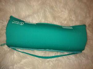 """Spoonk Space Acupressure Massage Mat 26""""x16"""" Back Pain & Sleep Aid teal aqua"""