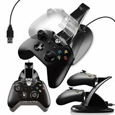 FOR XBOX ONE CONTROLLER LED CHARGER DOCK STATION DUAL USB FAST CHARGING STAND