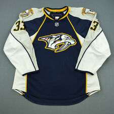 2010-11 Colin Wilson Nashville Predators Game Used Worn Hockey Jersey MeiGray