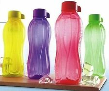 Tupperware 1 Ltr. AquaSafe 4 X Water Bottle (4 Pc.) Free Shipping Worldwide