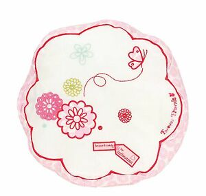 Pink Round Flower Cushion by Forever Friends