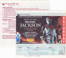 Michael Jackson Ticket Billet HISTORY TOUR Stub Wembley England UK 1997