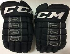 "CCM HG4RRP 4 Roll 14"" Pro Stock Hockey Gloves Black Texas Stars 2978"