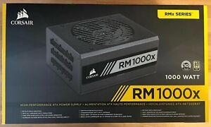 CORSAIR - RMx Series RM1000x 80 PLUS Gold Fully Modular ATX Power Supply - Black