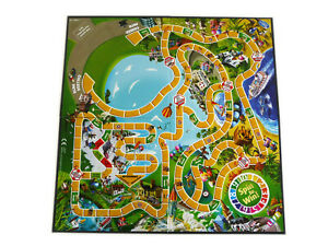 """Spare Parts:  Game Board for The Game of LIFE """"Instant Set-Up""""  by Hasbro"""