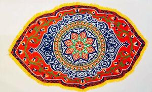Cloth Light Fabric Tablecloth Egyptian traditionl Ramadan Eid 130x80cm الخيامية