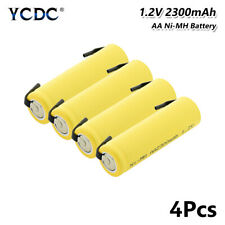 Rechargeable Ni-MH AA Battery 1.2V 2300mAh UM3 HR6 For Razor Torch Toys 4Pcs 09