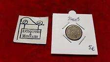 PAYS- BAS - PIECE DE 5 CENTS 1908 - REF24009