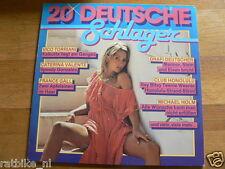 LP RECORD VINYL PIN-UP GIRL 20 DEUTSCHE SCHLAGER TORRIANI,VALENTE,GALL,HOLM,