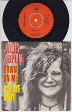 Janis JOPLIN * Down On Me * 1972 DUTCH 45 * BIG BROTHER * PSYCH *