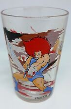 verre à moutarde French Drinking Glass COSMOCATS THUNDERCATS 1987