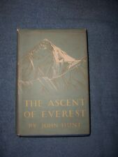 THE ASCENT OF EVEREST by John Hunt/1st Ed./HCDJ/Exploration/Mountain Climbing