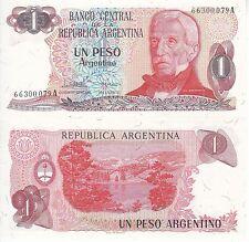 ARGENTINA 1 PESO ARGENTINO FDS UNC