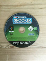World Snooker Championship 2007 for PS2 *Disc Only*