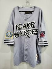 Rare VTG NLBM NYC Black Yankees #13 Negro League Throwback Jersey Mens 4XL Sewn