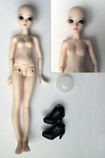 Minifee Chloe Natural Skin BJD MSD A-Line MNF Doll MINT recast eyes Makeup