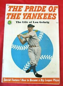 """The Pride Of The Yankees,1949 -  """"The Life Of Lou Gehrig"""" (Vintage and Rare)"""