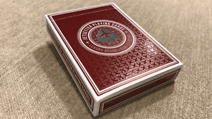 Jetsetter Playing Cards: Premier Red Edition