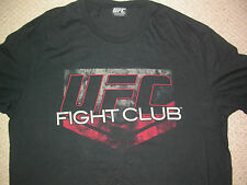 UFC Fight Club T shirt EXTRA LARGE XL. MMA BJJ Muay Thai Boxe in palestra KSW NUOVO