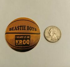 Beastie Boys classic 90's Kroq Basketball sticker