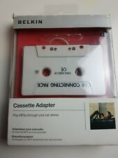 Belkin Original in Car Mobile Cassette Adapter for Smartphone MP3/CD Players