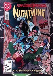 Teen Titans Spotlight #14 1987 DC Comics Copper Age Nightwing VF/NM 9.0