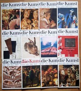 12x Die Kunst 1985 komplett Zeitschrift Hefte 1-12 schöne Heim Malerei Graphik
