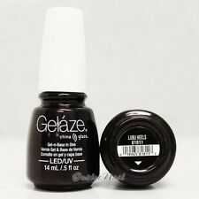 Gelaze China Glaze LED UV Nail Gel Color Polish 0.5 oz - Lubu Heels 81811