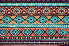 Ethnic Ponte Print #24 Double Knit Fabric Stretch Poly Lycra Spandex BTY