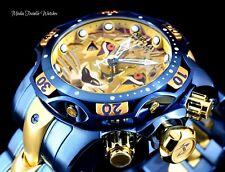 Invicta Reserve Lion 52mm Venom Gen III Swiss Quartz Blue & Gold Bracelet Watch