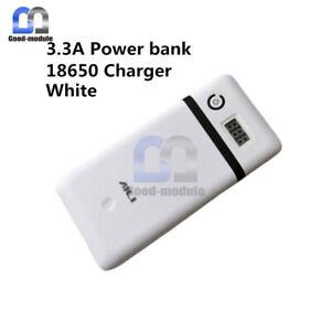 Six 18650 Battery 5V-21V 3.3A Mobile Power Bank Charger For 19V Laptop 5V iphone