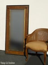 Vintage Federal Style Brown & Gold Solid Wood Full Length WALL MIRROR