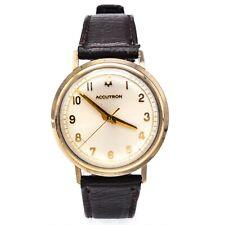 Vintage Bulova Accutron 10K Gold Filled Tuning Fork Men's Watch 34 mm