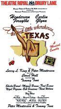 THE BEST LITTLE WHOREHOUSE IN TEXAS Theatre Flyer Handbill