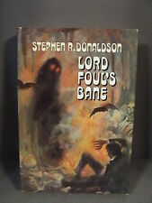LORD FOUL'S BAND STEPHEN R. DONALDSON HB/DJ DOUBLEDAY BOOK CLUB 1977