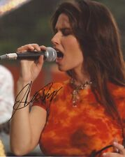 SHANIA TWAIN AUTOGRAPH SIGNED PP PHOTO POSTER 1