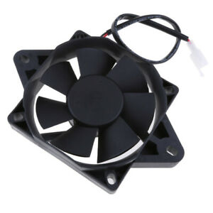 Motorcycle ATV Quad Buggy Oil Cooler Water 160mm Radiator Electric Cooling Fan