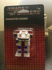 Transformers G1 Prowl Character Eraser Vintage 1985 Hasbro Spindex NEW