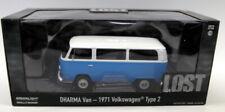 Greenlight 1/24 Scale Diecast 84033 Dharma Van 1971 Volkswagen Type 2 TV's Lost
