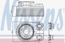Nissens 90705 Enfriador de aceite RENAULT KANGOO 08