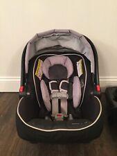 Graco SnugRide Click Connect 35 Infant Car Seat, Gotham Infant Booster