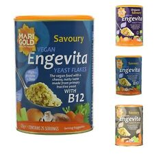 Nutritional Yeast Flakes Marigold Engevita 125g Vegan Gluten Free Organic B12