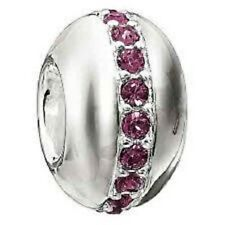 Authentic NEW Chamilia Sterling Silver & Amthyst Wink Bead 2083-0244   RETIRED!