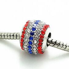 Hot 1PCS Silver European Charms Bead Fit Bracelet Necklace Chain Pendant  SH173