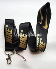 Nike Lanyard Gold Strap Badge ID Running Cell Holder Detachable Keychain Camera