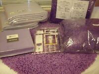 11 PIECE GIRL'S/TEEN'S TWIN SIZE PURPLE BEDDING SET~BRAND NEW~JCPENNEY/SEARS