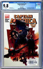 CAPTAIN AMERICA #6 VARIANT CGC 9.8 1st WINTER SOLDIER 2005