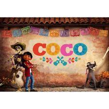 7x5ft Vinyl Coco Boy Birthday Photography Backdrop Background