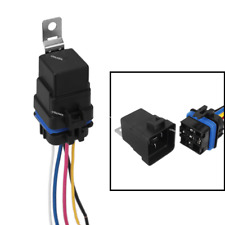 Automotive Car Relay Switch Harness 5Pin SPDT Waterproof 30A/40A DC12V Wires Kit