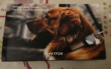 PETFON Pet GPS Tracker No Monthly Fee Real-Time Tracking 3.5 miles locator ip65
